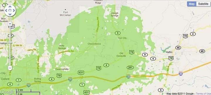 New 4G WiMax Protection Site in Anniston, Alabama (Additional Service)
