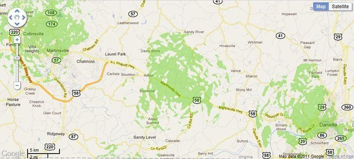 New 4G WiMax Protection Site in Danville/Martinsville Corridor, Virginia