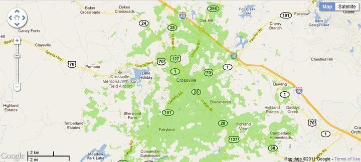 New 4G WiMax Protection Site in Crossville, Tennessee