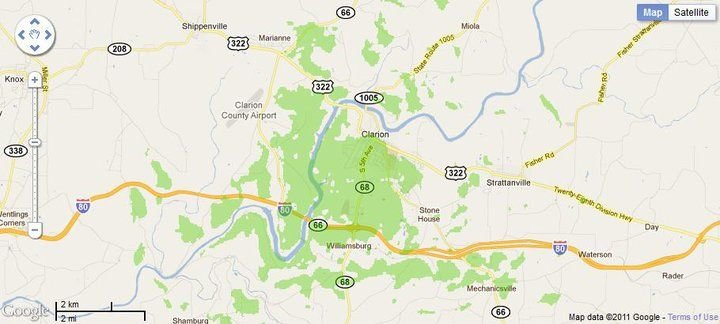 New 4G WiMax Protection Site in Clarion, Pennsylvania