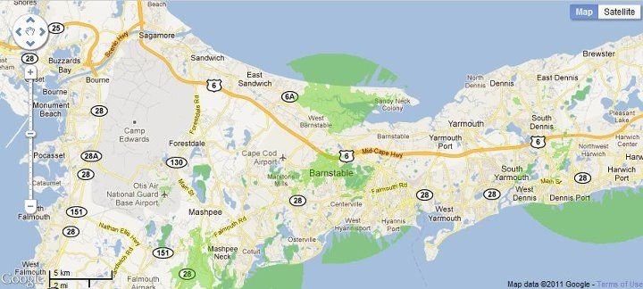 New 4G WiMax Protection Site in Barnstable/Cape Cod, Massachusetts