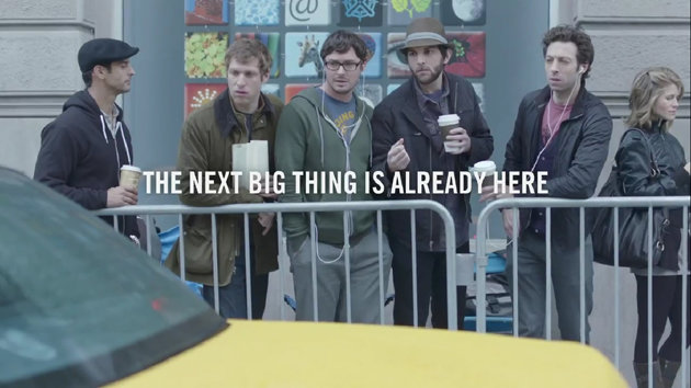 New Samsung commercial stirring controversies. Really? Get a life!