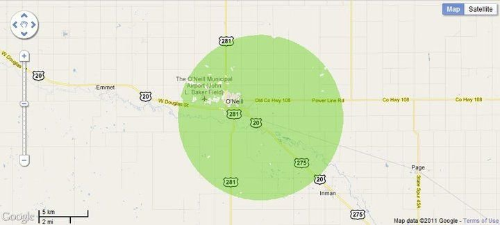 New 4G WiMax Protection Site in O'Neill, Nebraska