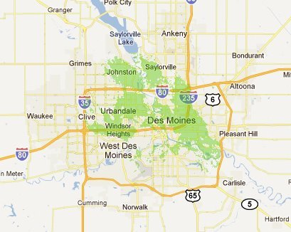 Des Moines 4G WiMax coverage reappears on Clear's coverage maps after 6 month hiatus
