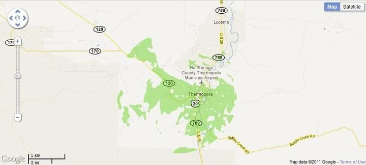 New 4G WiMax Protection Site in Thermopolis, Wyoming