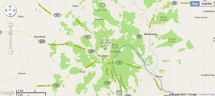 New 4G WiMax Protection Site in Caribou, Maine