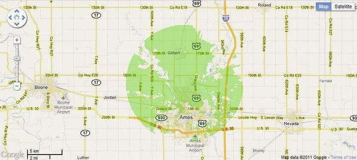 New 4G WiMax Protection Site in Ames, Iowa
