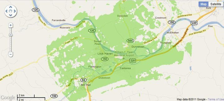 New 4G WiMax Protection Site in Lock Haven, Pennsylvania