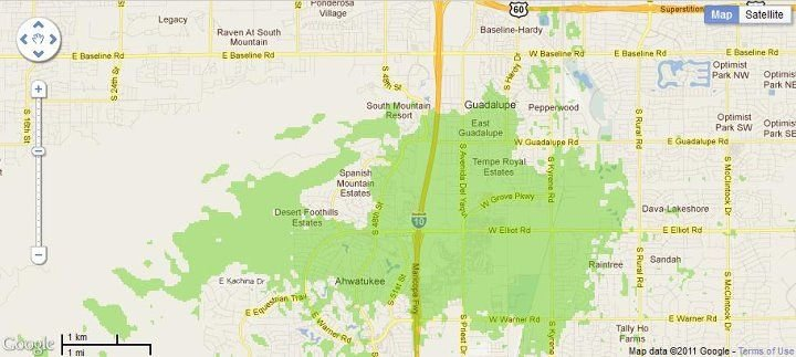 New 4G WiMax Protection Site in Phoenix, Arizona (Additional Service)