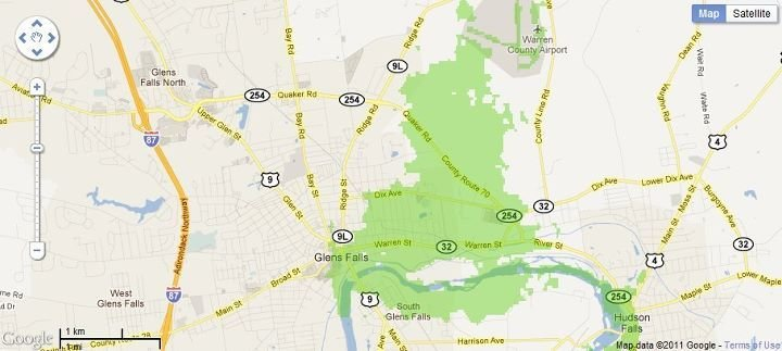 New 4G WiMax Protection Site in Glens Falls, New York