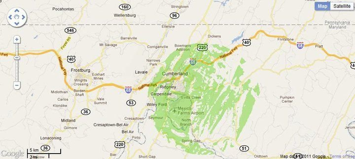 New 4G WiMax Protection Site in Cumberland, Maryland