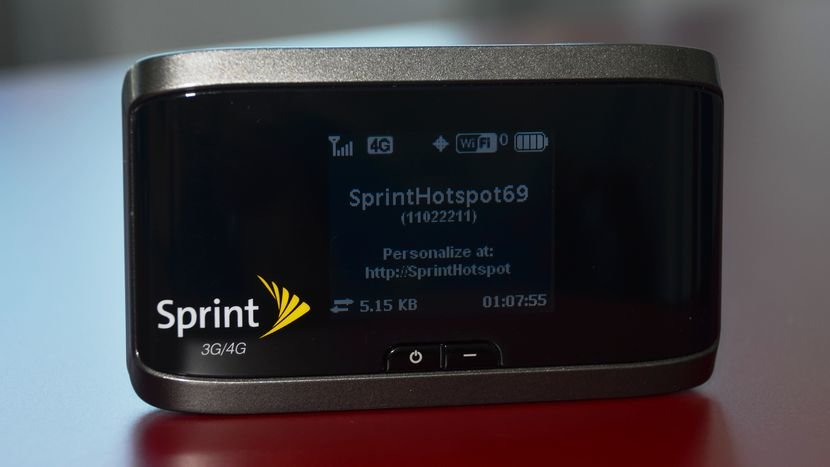 Hands On Review of the new Sprint 4G LTE/WiMax/3G EVDO Hotspot