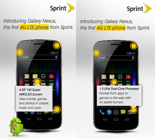Sprint is getting a LTE Galaxy Nexus??? WTH???