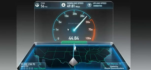 Sprint 4G LTE speed tests appear on YouTube from San Antonio