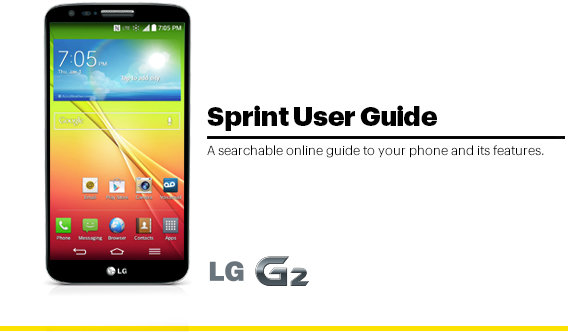 Bande à part:  LG G2 is the first announced Sprint tri band LTE handset