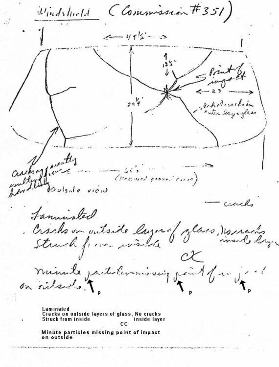 Cunningham report and drawing on limo windshield 2 of 2 - with writing.jpg