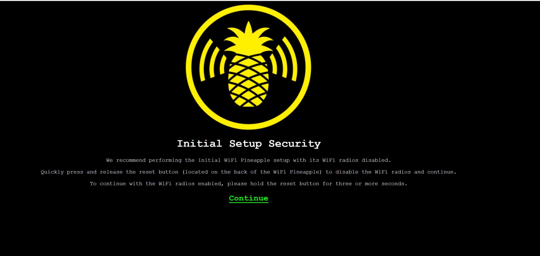 New Tetra Setup? - WiFi Pineapple TETRA - Hak5 Forums