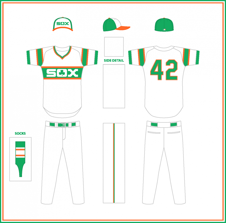 Chicago White Sox Irish Heritage Uniform.png