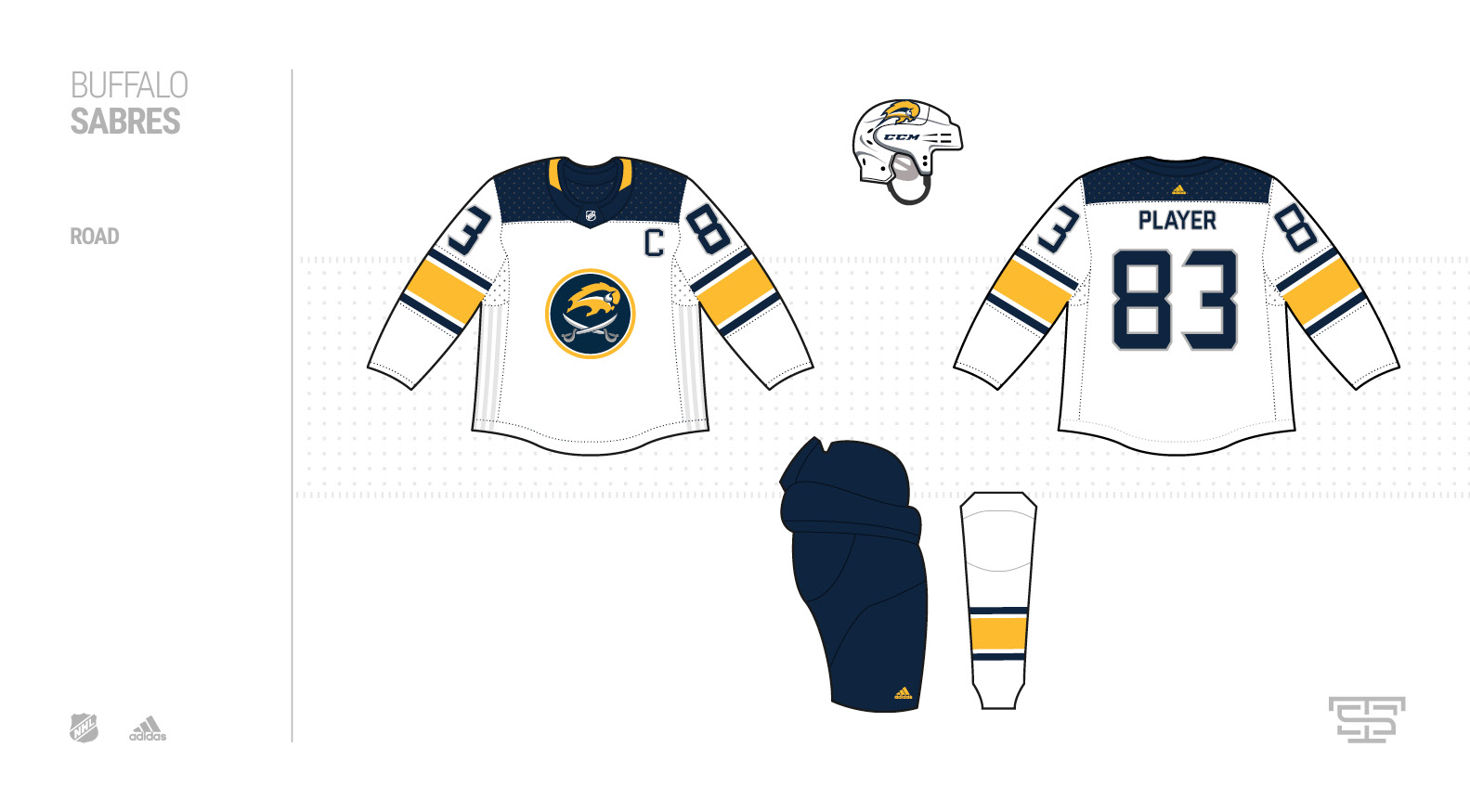 Adidas NHL Jersey Concepts