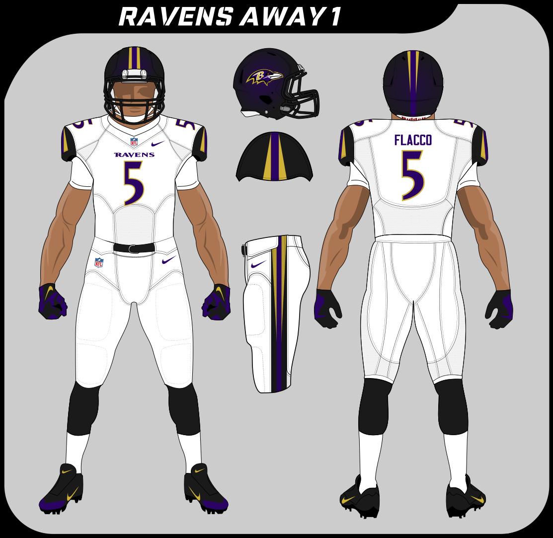 baltimore ravens away jersey