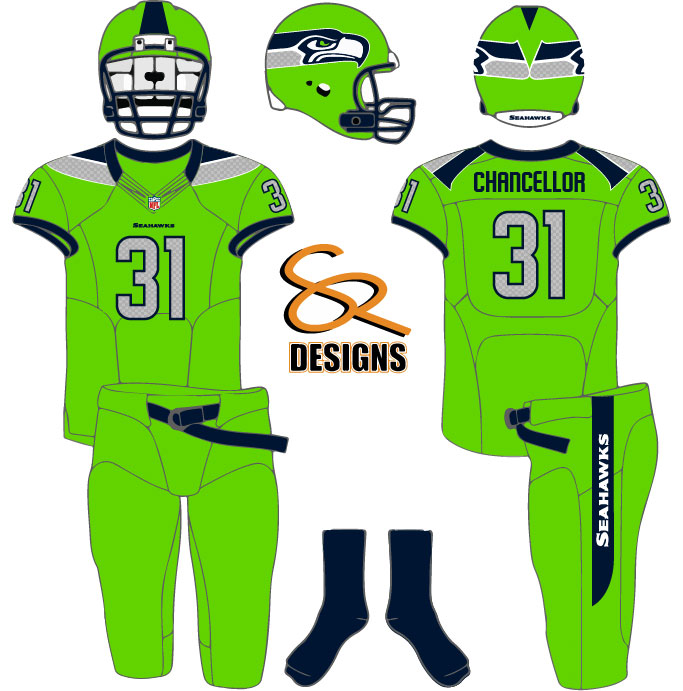 0965a75123e Seahawks Color Rush Concept - Concepts - Chris Creamer's Sports ...