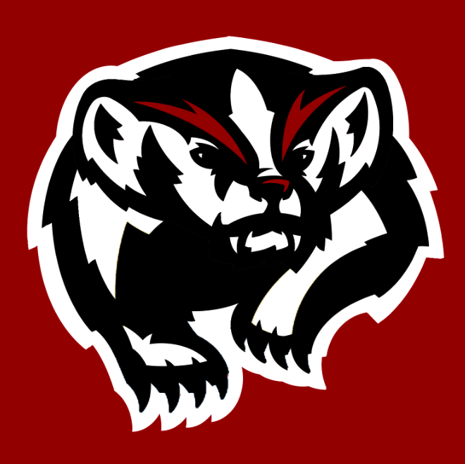 Klamath Community College Badgers #3.png