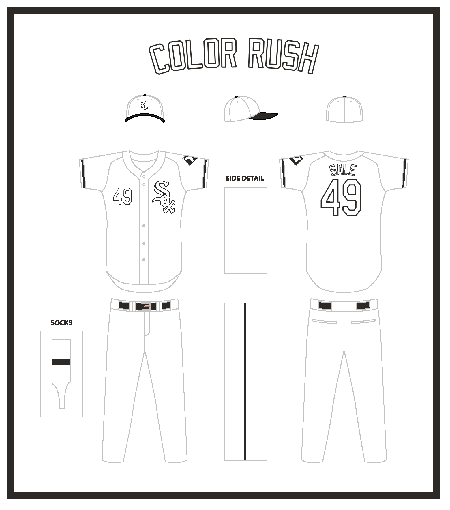 mlb color rush completed concepts chris creamer u0027s sports