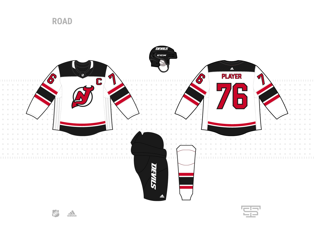 new product 90487 c5a1f Adidas NHL Jersey Concepts - Page 3 - Concepts - Chris ...