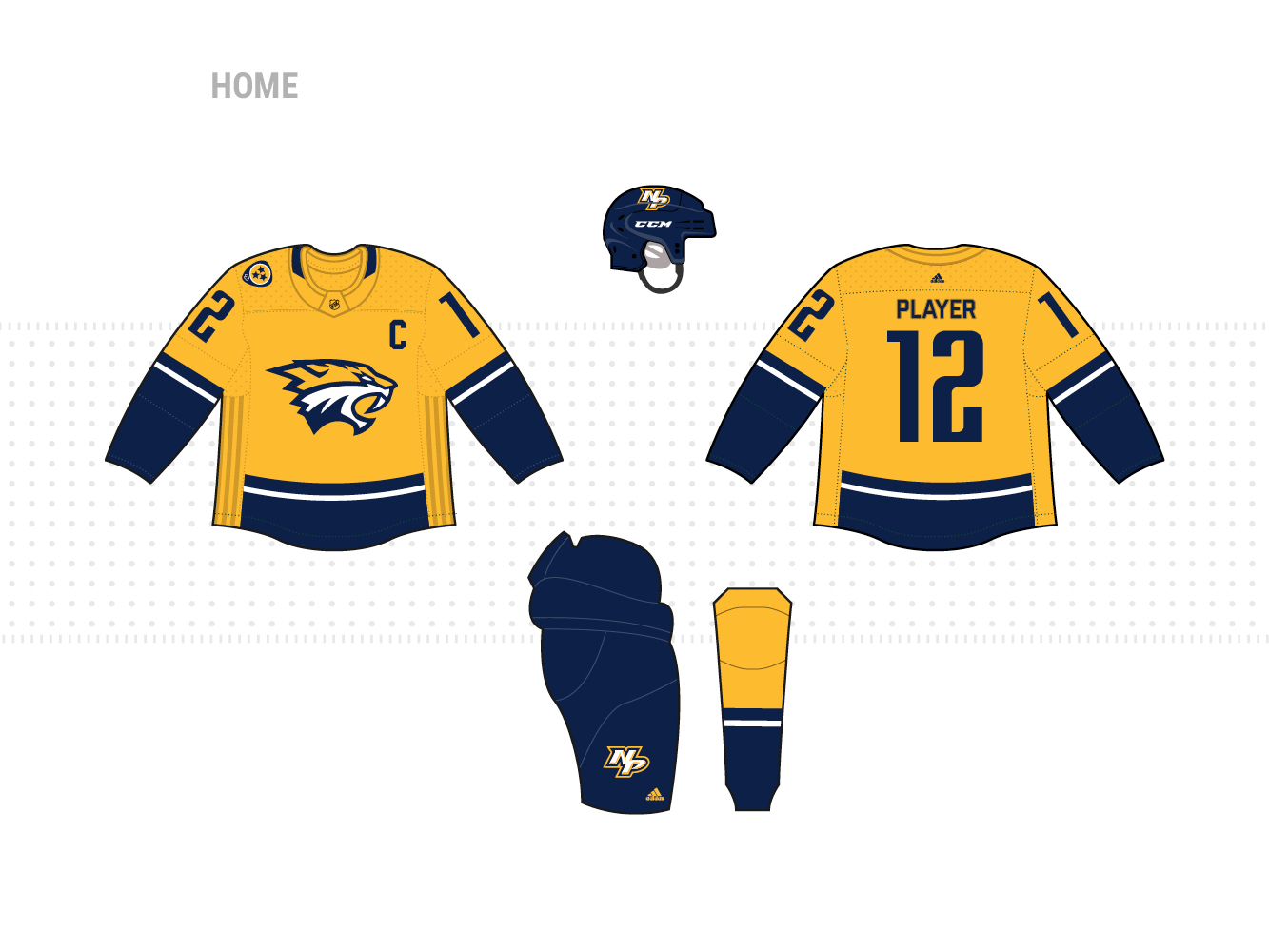 reputable site 4830b 37e43 Adidas NHL Jersey Concepts - Page 2 - Concepts - Chris ...