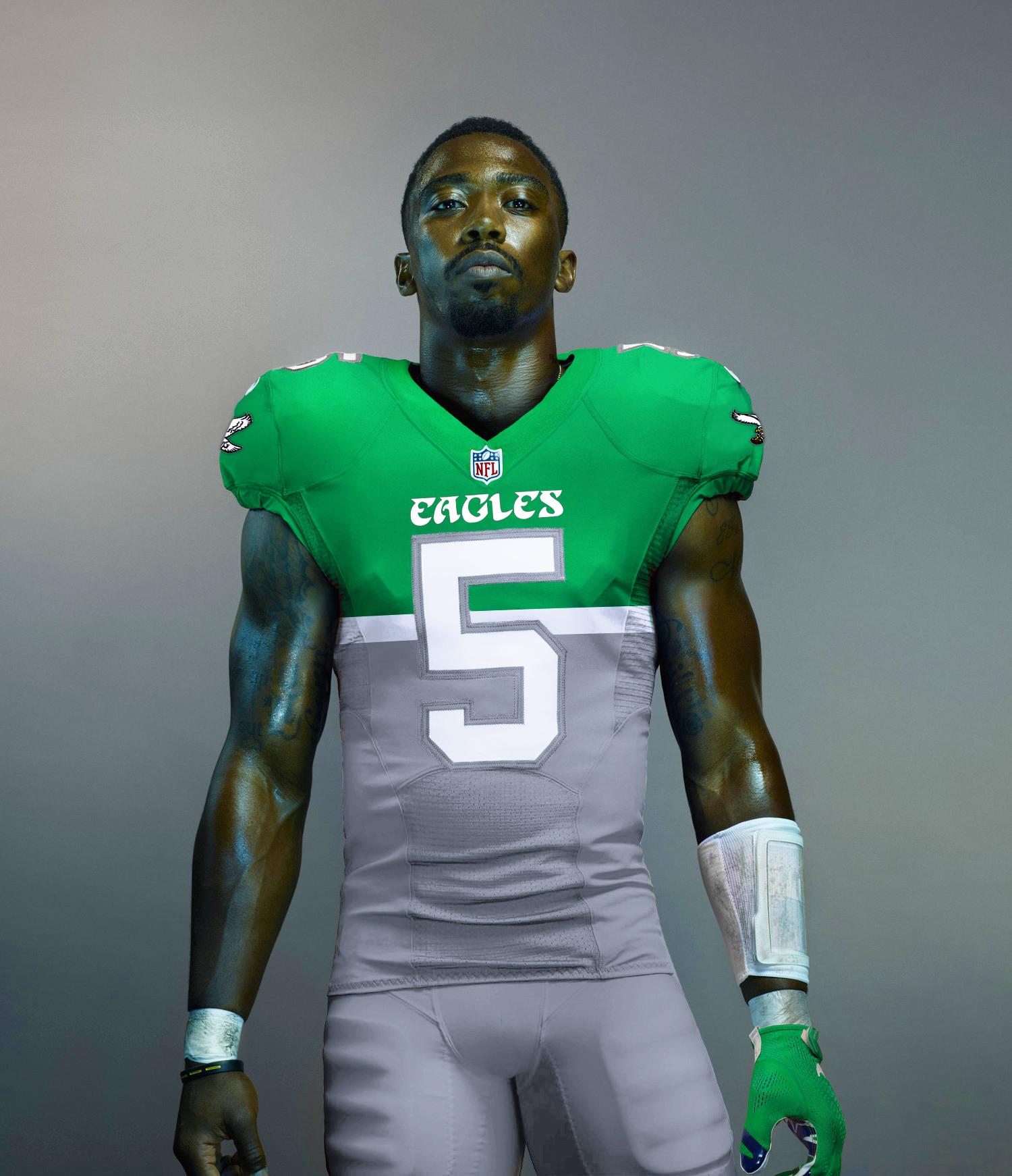 Concept Philadelphia Eagles Color Rush Uniform - Concepts - Chris ... 943991cb0