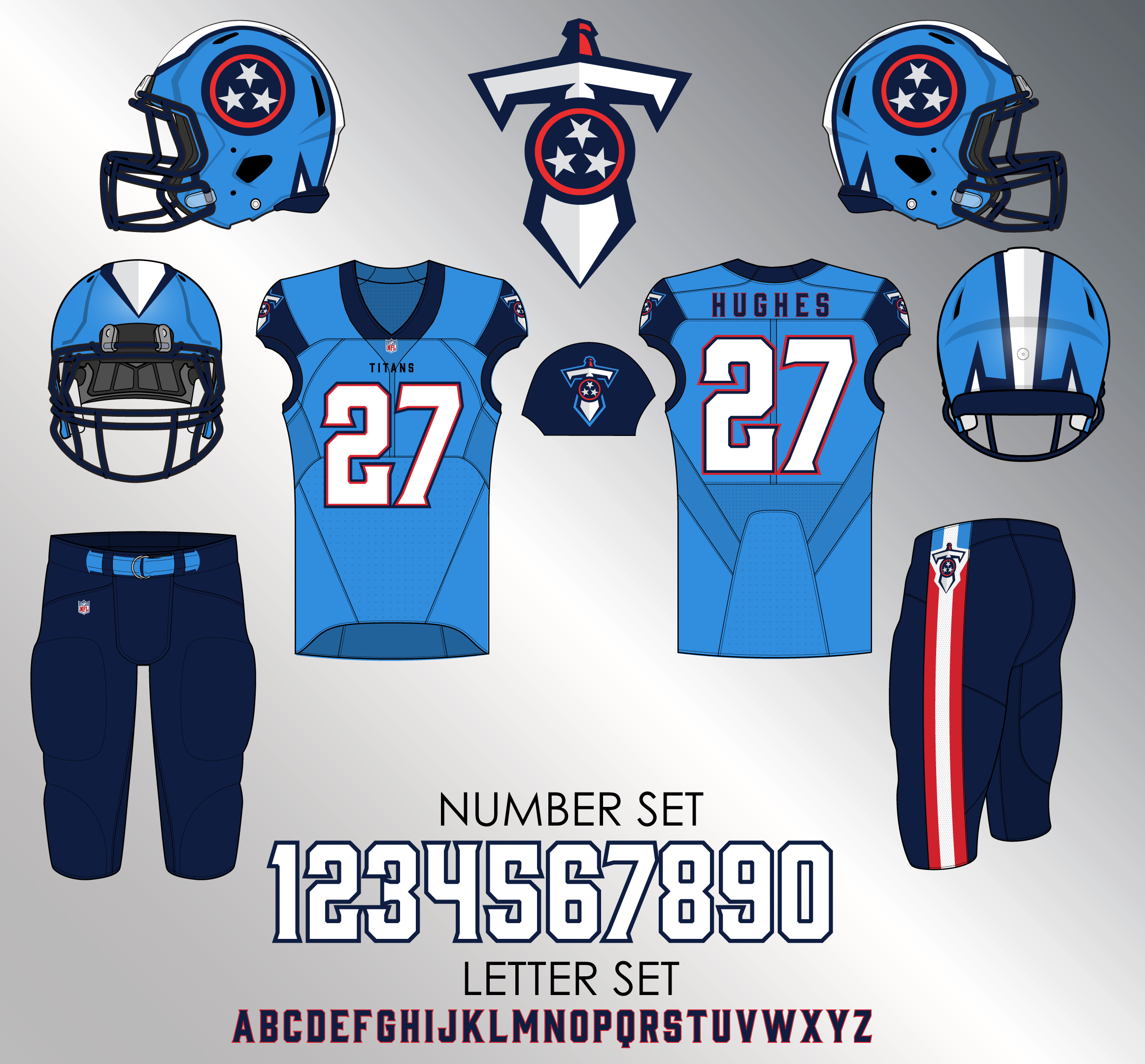 Hot 2018 Tennessee Titans (Updated w Uniform set) Page 2 Concepts  free shipping