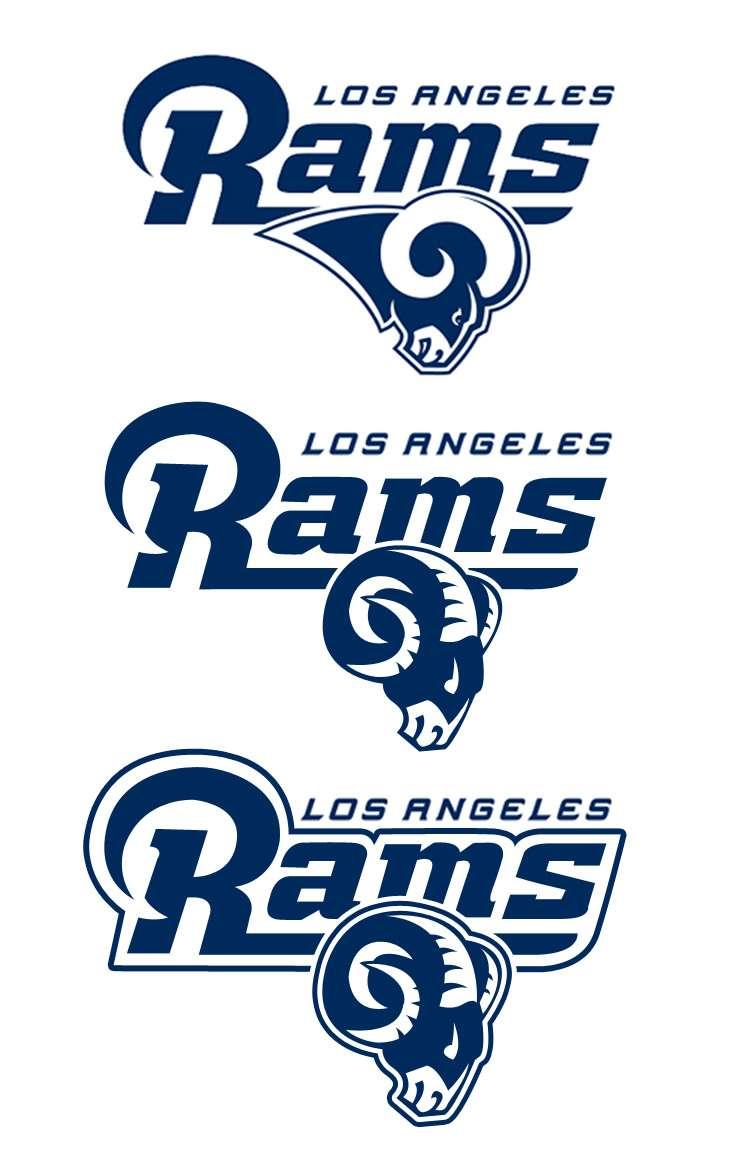 la rams logo concepts chris creamer s sports logos community