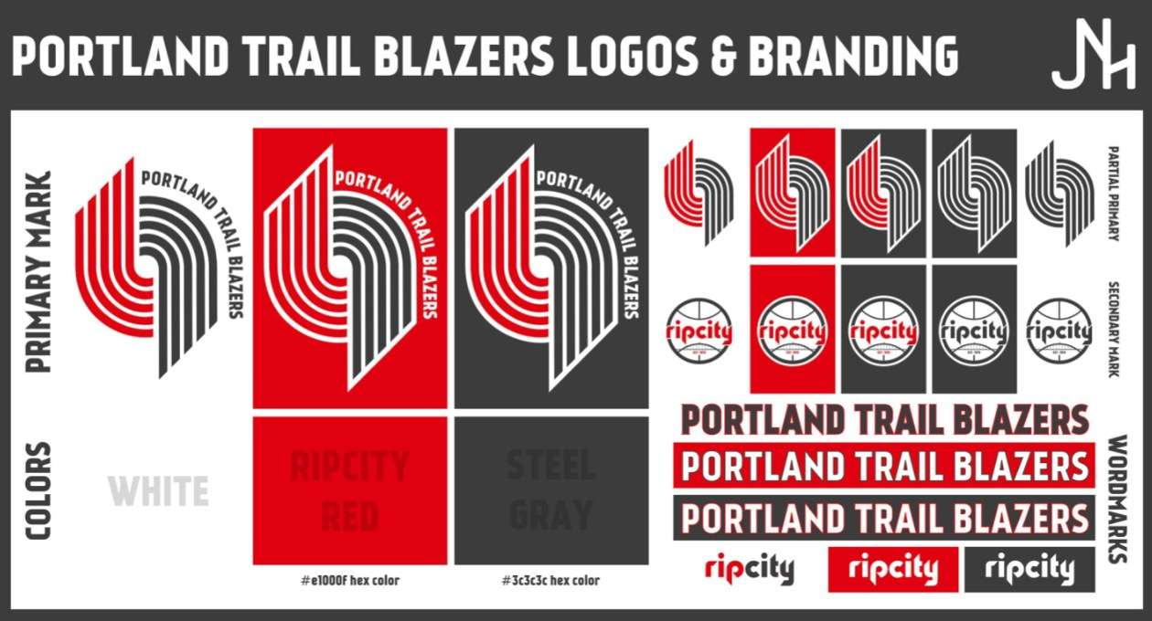 Portland Trail Blazers 2017 18 Concepts Chris Creamer S Sports Logos Community Ccslc Sportslogos Net Forums