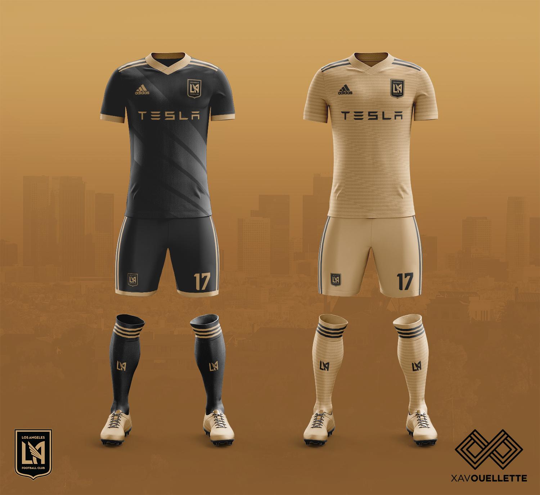 big sale d9b82 a61c2 MLS Kit Designs (LAFC, LA Galaxy added) - Concepts - Chris ...