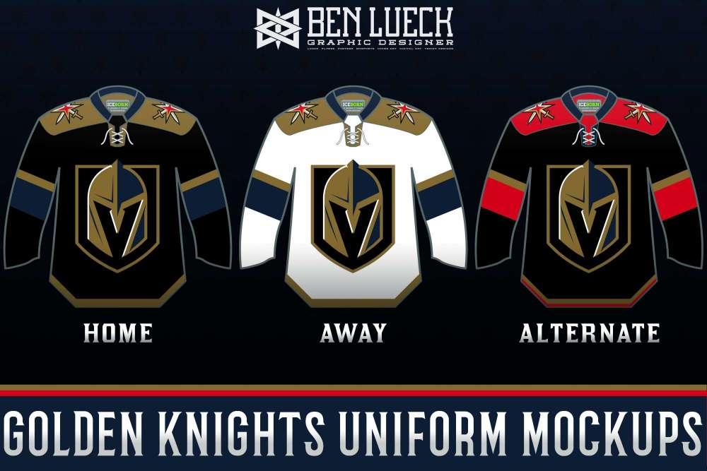 uk availability 0779d 2789c Vegas Golden Knights Uniform Mock-ups - Concepts - Chris ...