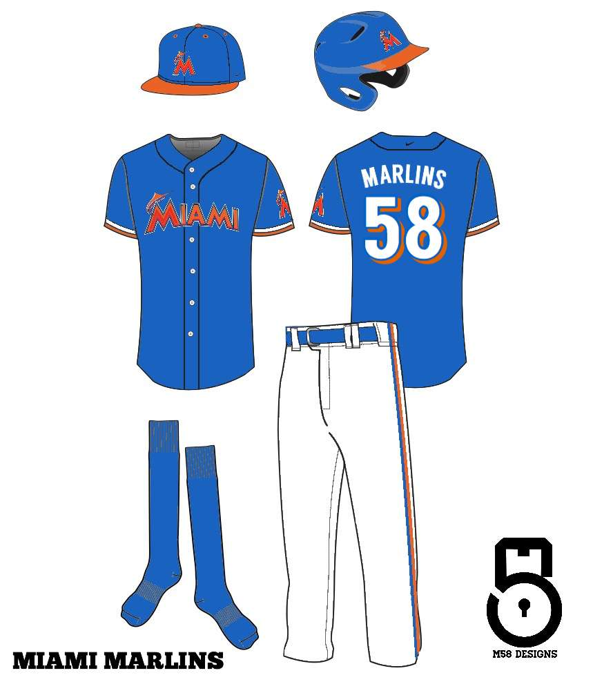 new concept 8310d 7a4b9 Miami Marlins Redesign - Concepts - Chris Creamer's Sports ...