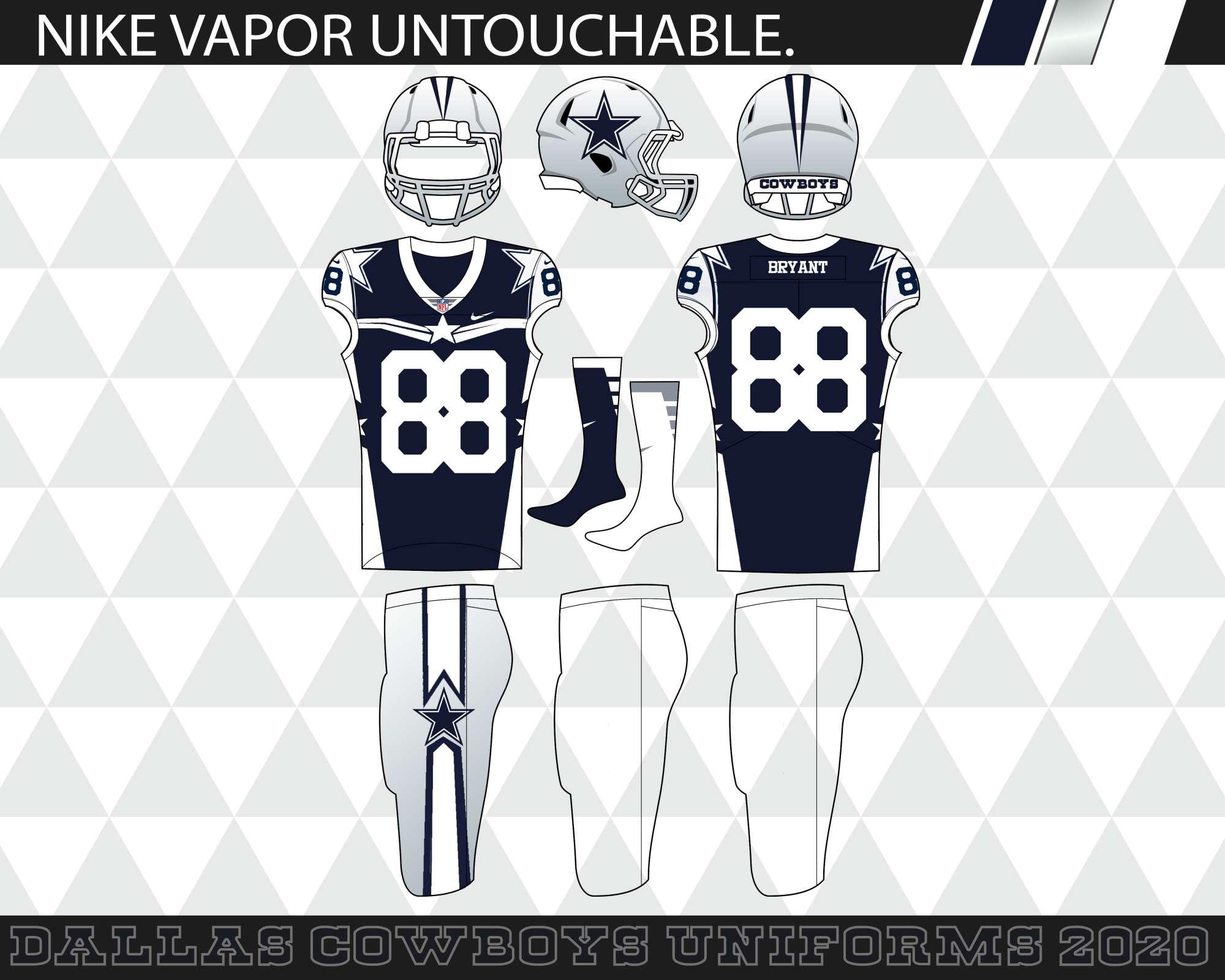 quality design da2ea 1c8b1 The Dallas Cowboys 2020 Elite Uniforms - Concepts - Chris ...