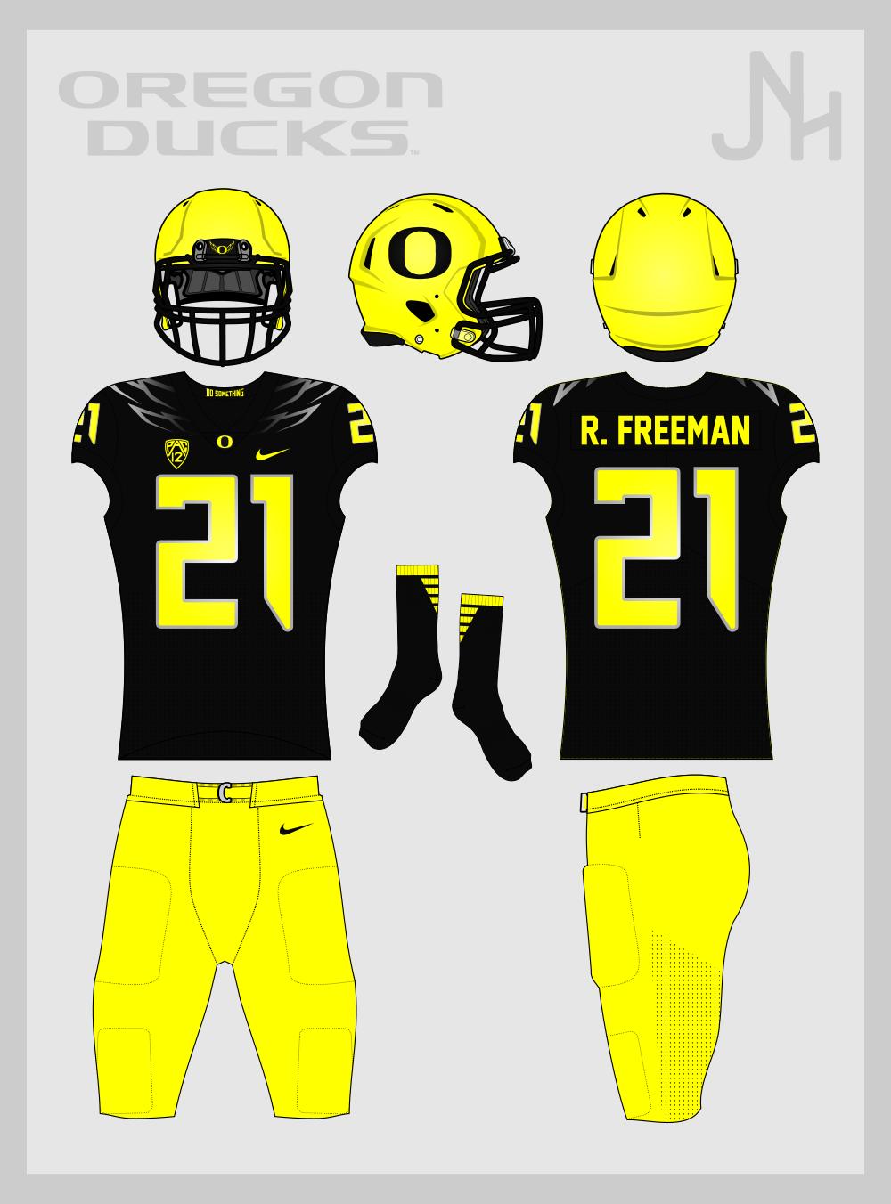 on sale 6e94e 576ef Oregon Ducks Football 2017 - Concepts - Chris Creamer's ...