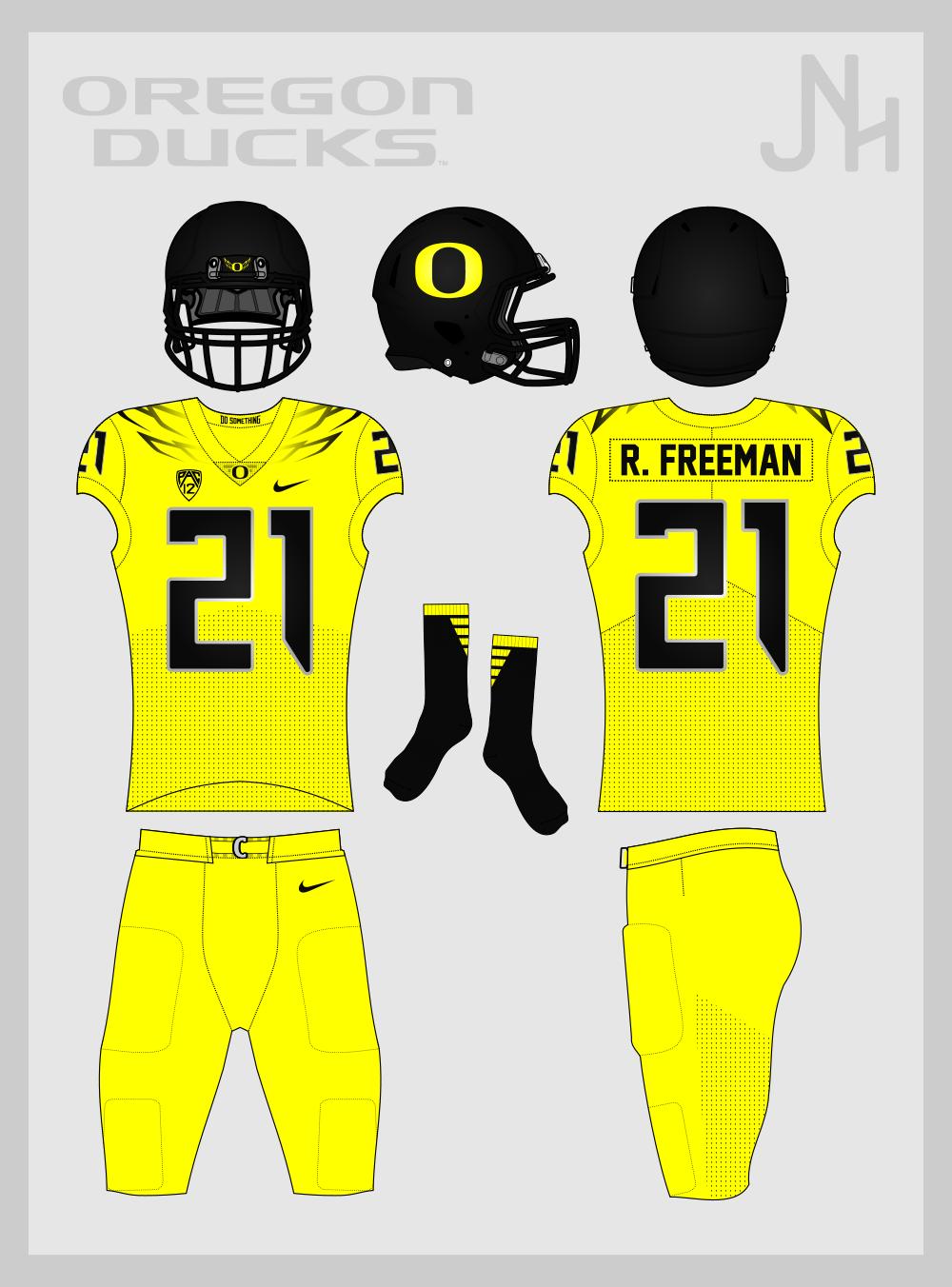 on sale b06b7 e7fd3 Oregon Ducks Football 2017 - Concepts - Chris Creamer's ...