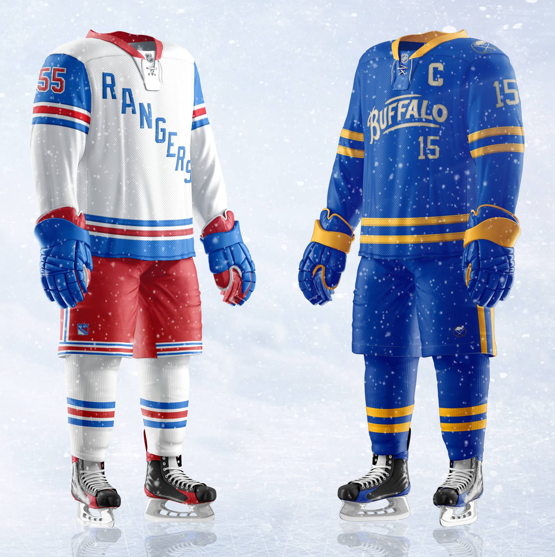 low priced a6991 3a666 2018 Winter Classic Jersey Concepts - Concepts - Chris ...