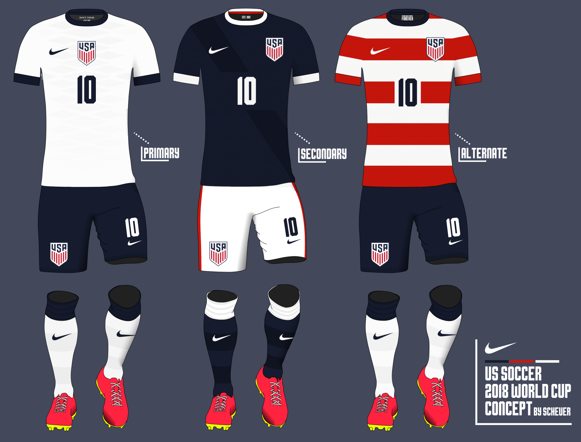 4f12a95bf5e US Soccer 2018 World Cup Concept by Scheuer - Concepts - Chris ...