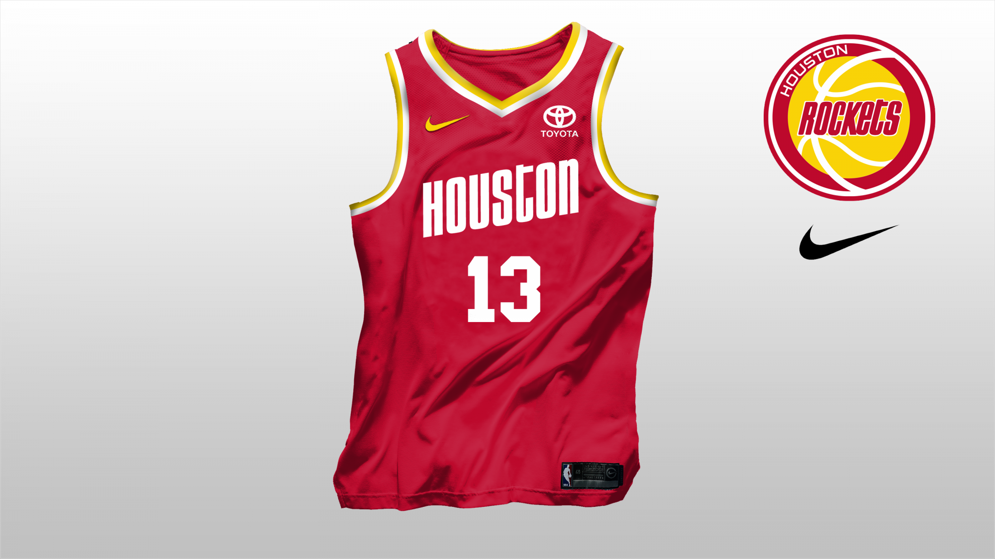 b2ede20c78 Houston Rockets Bring back the glory. - Concepts - Chris Creamer's ...