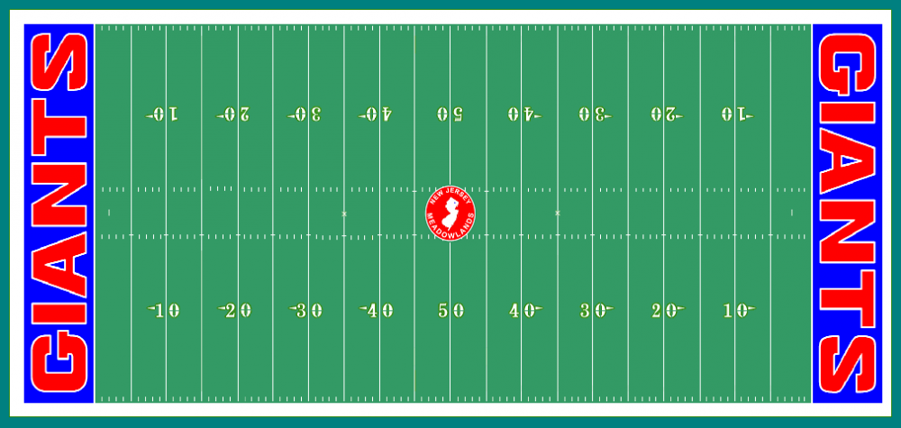 Field layout - Meadowlands, 1986.png