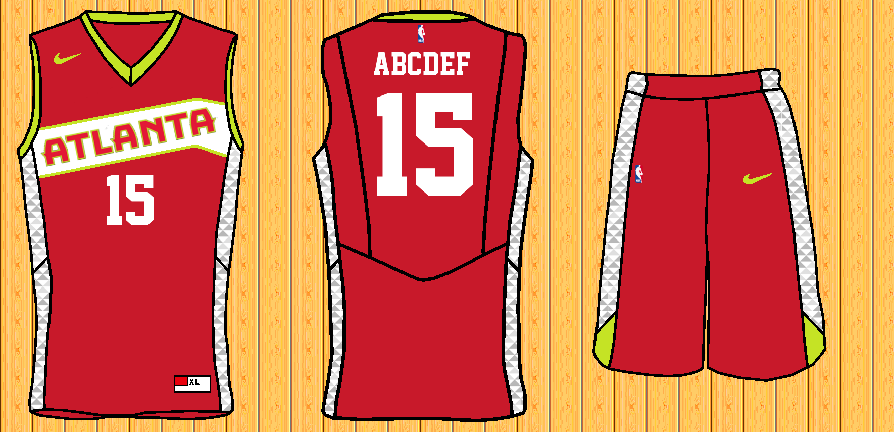 new styles d7498 3ffd9 Revamping NBA Throwback Jerseys (Bulls Added) - Concepts ...