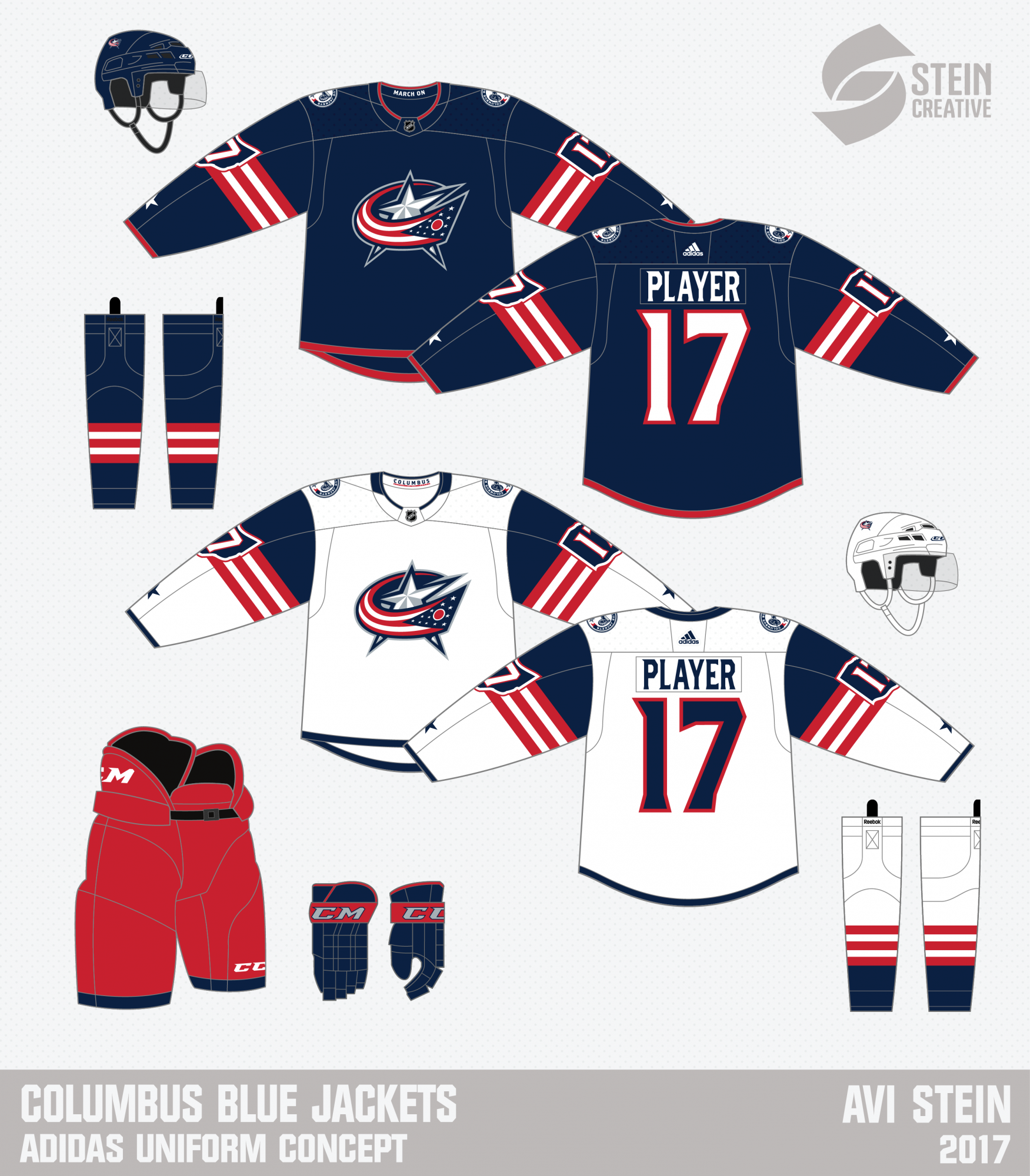 Columbus Blue Jackets Concept - 3rd Option Posted - Concepts - Chris ... 73787b937