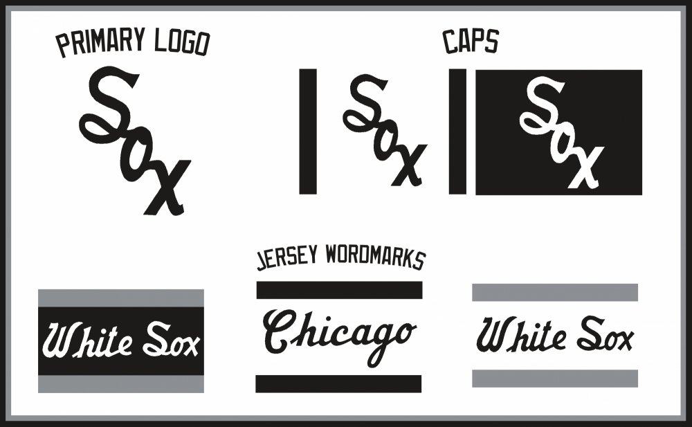 Chicago White Sox Logos.png