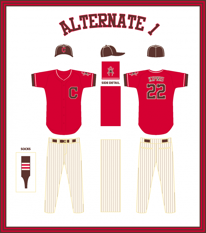 Cleveland Spiders Alternate 1.png