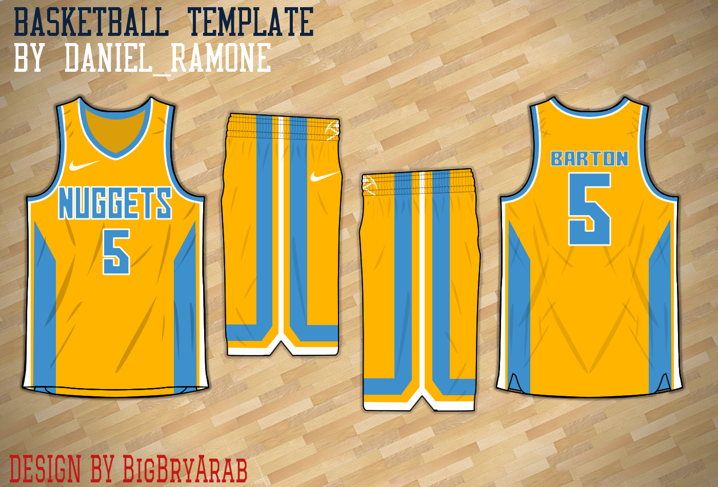 innovative design 2127f cf590 denver nuggets jersey yellow