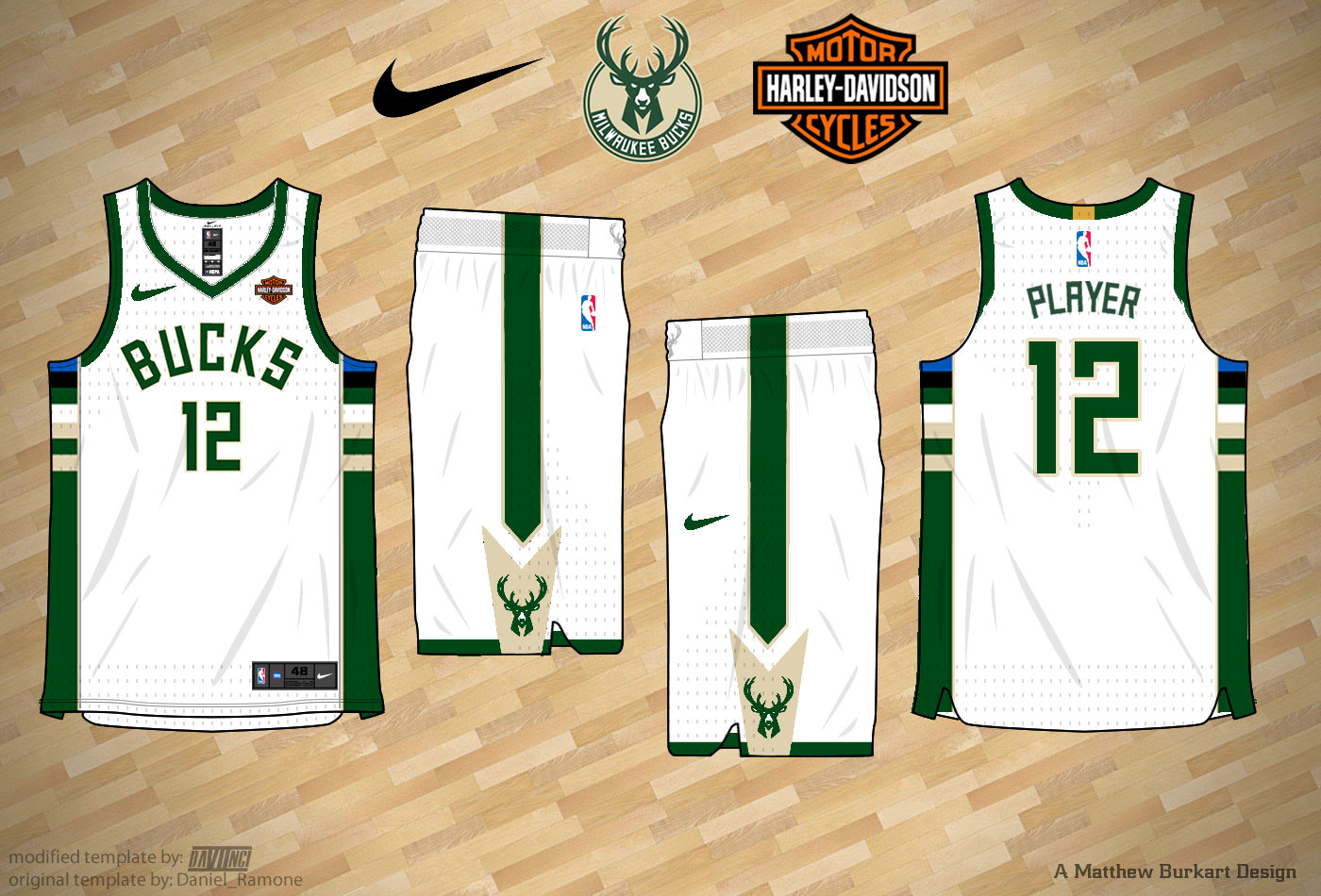 Nike Nba Concepts 2017 18 New Bucks Full Concept Page