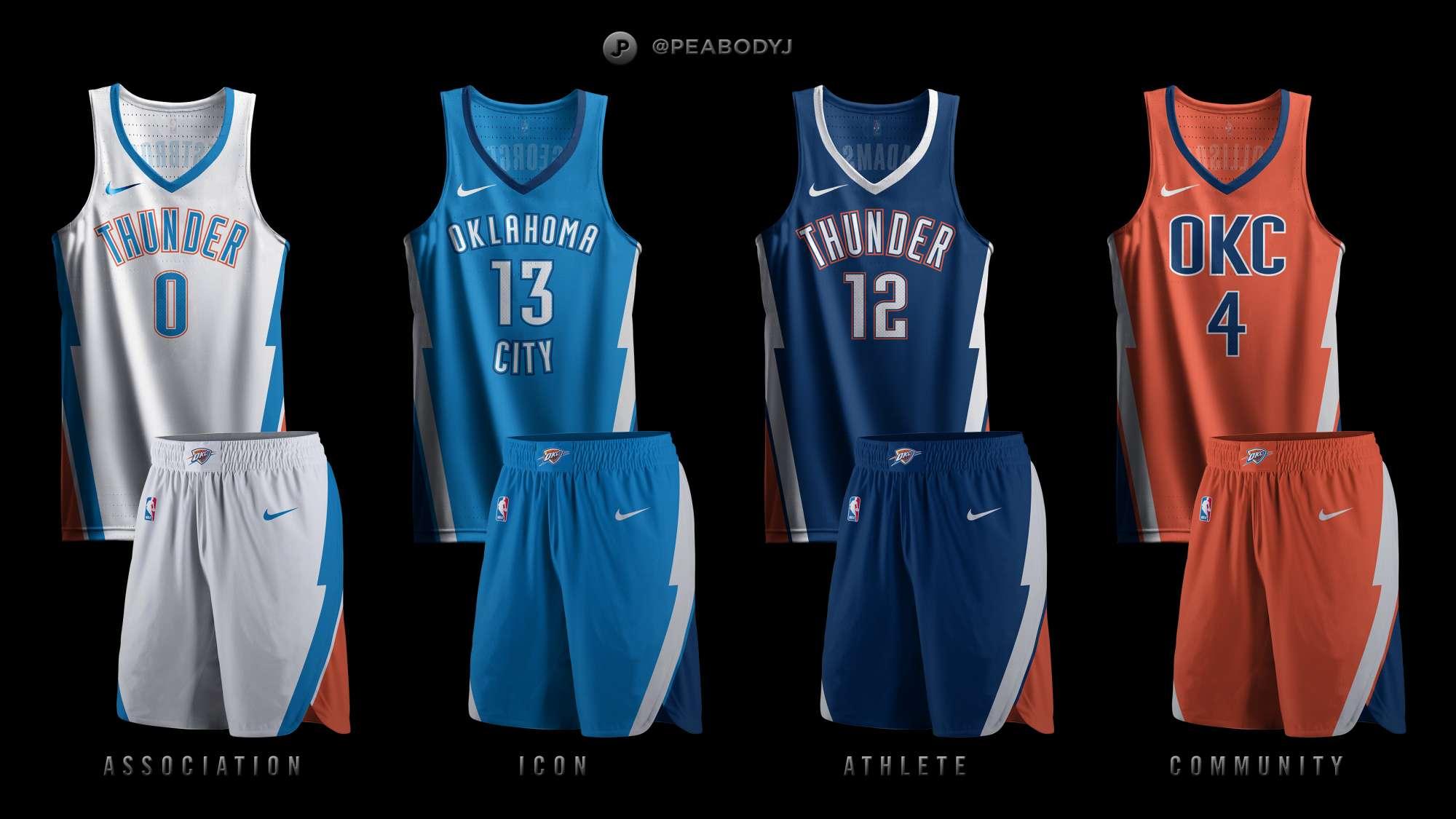 huge discount 0f8a1 872e2 Oklahoma City Thunder x Nike Concepts - Concepts - Chris ...